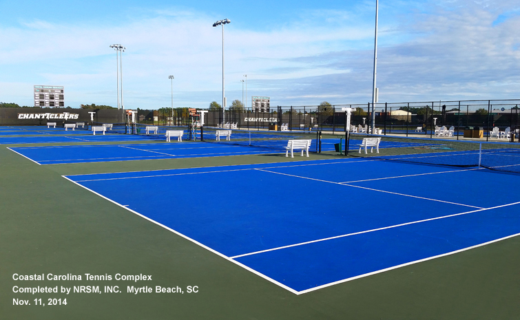 Coastal Carolina University Tennis Courts